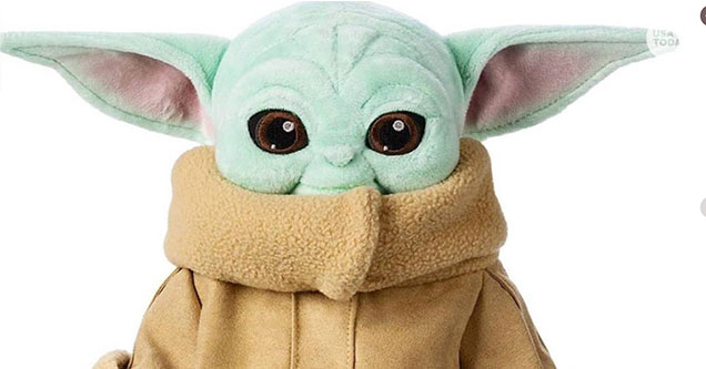 Image result for Baby Yoda Plush Is Soon Being Released