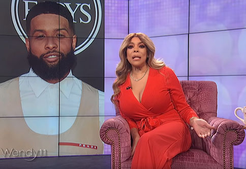 Wendy Williams fart in the middle of her show