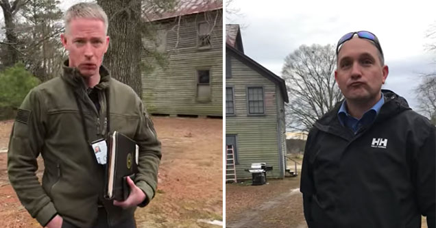 recording of Virginia police | Virginia State police visit man at his home after he toured the state capital