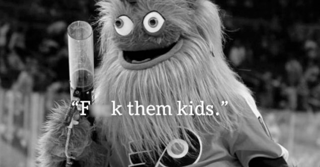 Gritty looking insane