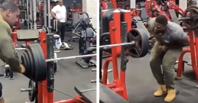 Dude Receives The Nutshot Of A Lifetime While Removing Elastic