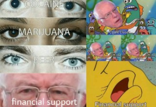<strong>I Am Once Again Asking for Your Financial Support</strong> is a quote said by Bernie Sanders during a December 2019 fundraising video. Starting in January 2020, a screenshot of Bernie Sanders during the video has turned into a trending meme on Reddit and Facebook.