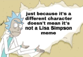 This new meme format has blown up in the past 24 hours on Reddit, and I'm pretty sure it's already been killed. There is really nothing new about as it's basically the same as the Lisa Simpson and Spiderman formats which convey a message in the exact same way.