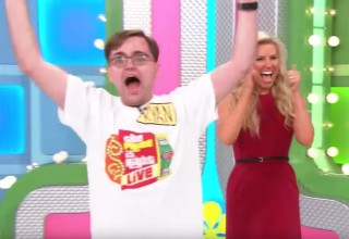 A contestant on the Price is Right goes absolutely wild after scoring big on Plinko. | price is right video