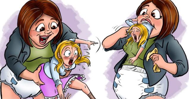strange comic appears to show Amy Klobuchar and Ivanka Trump disturbs the web