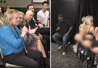 guys talking to porn stars- at the national AVN expo | all gas no breaks interview at the avn expo