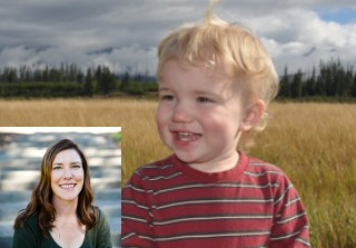 Michelle DuBarry and her son, Seamus - hearbreaking Twitter thread about health care goes viral.