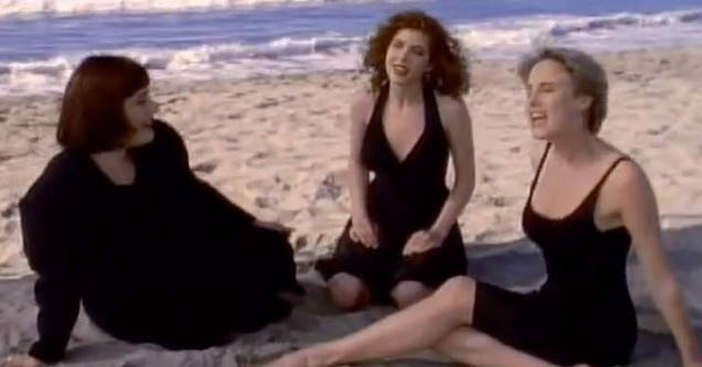Still from music video for Wilson Phillips' 'Hold On'