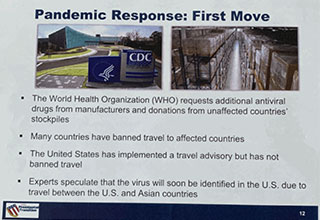 "As is typical for out-going presidents, Obama's transition team made a special presentation (simulation) for trump's team to warn them about how serious the threat of Pandemic is. And two years later, Trump disbanded the White House Pandemic team and well, you know the rest.  Full story: over at <a href=""https://www.politico.com/news/2020/03/16/trump-inauguration-warning-scenario-pandemic-132797""><strong>Politico.  </strong></a>"