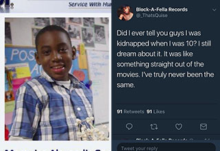 """It's not everyday you find a real Twitter thread from someone who was actually kidnapped and returned to tell the tale. This is just one of many, many <a href=""""https://www.ebaumsworld.com/pictures/crazy-story-about-hustling-a-ms-13-drug-dealer/85968373/""""><strong>crazy stories told from the web. </strong></a>"""