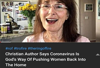 glasses - , Christian Author Says Coronavirus is God's Way Of Pushing Women Back Into The Home 4,728 views. 53 minutes ago
