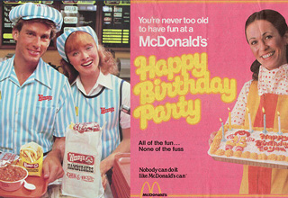 "A look back at iconic fast food images from places that are still around today <a href=""https://www.ebaumsworld.com/pictures/the-15-greatest-fast-food-flops-of-all-time/85298922/"">(and some that aren't)</a>."