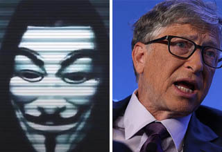 Anonymous releases new message targeted at Bill Gates