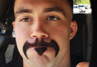 Batman Stache
