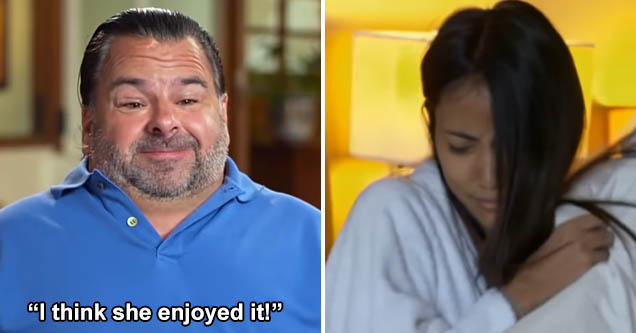Big Ed and His 90-Day Fiance, Rose, Finally Did the Dirty - Facepalm Video | eBaum's World
