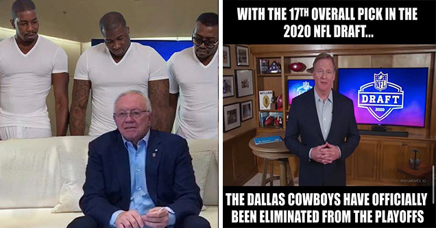 Celebrate With Memes After Patriots Trip Up Cowboys Houston