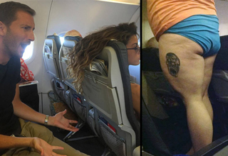 "You wont miss flying after remembering how <a href=""https://www.ebaumsworld.com/articles/poor-flight-attendant-was-forced-to-wipe-large-mans-butt-on-plane/85867655/"">gross</a> people tend to be on planes."