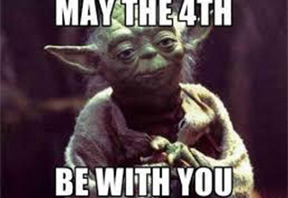 "May the 4th be with you..and also with you. Here are some more <a href=""https://www.ebaumsworld.com/pictures/66-star-wars-memes-to-give-you-the-high-ground/86261524/""><strong>Star Wars memes</strong></a> to strengthen your force."