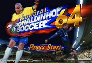 Mundial Ronaldinho Soccer 64 | rick rolling soccer video game memes 64 press start