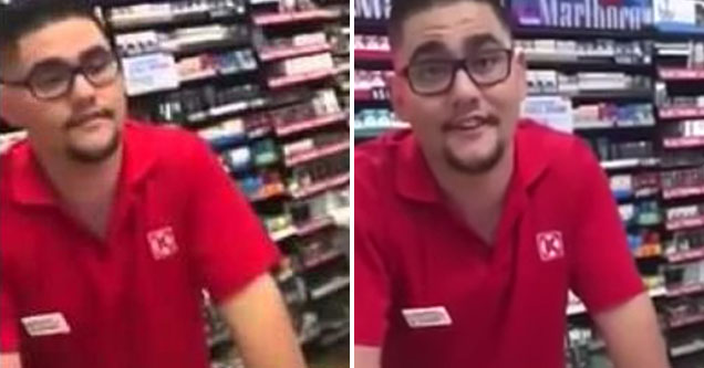 guy working a store gets called out for stolen valor | man in a store pretends to be a marine