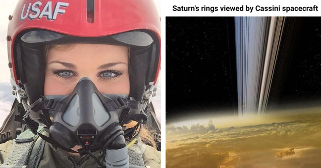 a female USAF pilot and the rings on Saturnfrom casimi craft
