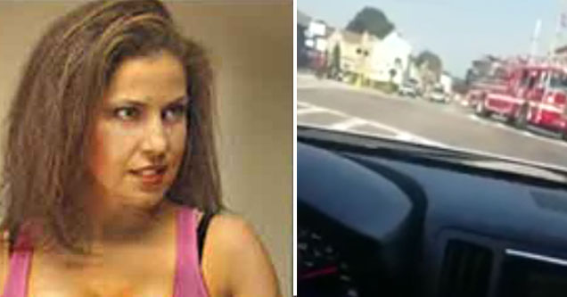 guy gets revenge on his bully by sleeping with his mom | pic of a woman in a pink tank top and a cars dashboard