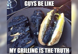 "Some people are <strong><a href=""https://www.ebaumsworld.com/videos/dudes-backyard-bbq-goes-from-bad-to-worse-fast/86001061/"">grill gurus</a></strong>, others pit bosses, and some...well some are better left chillin' in the pool letting someone else deal with the grillin. Here's some grillin/bbqin inspired wholesome goodness for Memorial Day and the rest of the summer. </br> </br> <strong><a href=""https://www.ebaumsworld.com/jokes/big-ass-grill/740731/"">Grilling</a></strong> is somewhere in between an art, like self defense, and a learned technique, like rocket science. Some may even say it's a combination of the two, but that's up for you to decide. </br> </br> Just a bunch of pics of people enjoying their grills to get you fired up for grillin season. No <strong><a href=""https://www.ebaumsworld.com/videos/goerge-foreman-hitting-the-heavy-bag-is-a-pure-force-of-nature/86118699/"">George Foremans</a></strong> allowed. </br> </br> And no matter which side of the propane/charcoal divide you fall on, there's <strong><a href=""https://www.ebaumsworld.com/pictures/how-to-grill-the-perfect-burger/85423480/"">something cooking</a></strong> here for you."