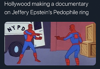 Netflix released a new Epstein documentary that brings new information about Jeffery's sex trafficking ring. Here are some memes to remind us he didn't kill himself.