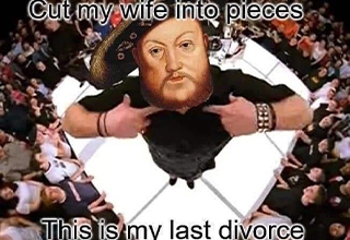 funny memes | paparoach last report - Cut my wife into pieces This is my last divorce
