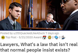 The justice system is an INCREDIBLY complex beast, and that - along with convenient Hollywood plot devices in legal films - has led to a LOT of misconception out there. Thankfully, the real-life lawyers are here to clear it up.