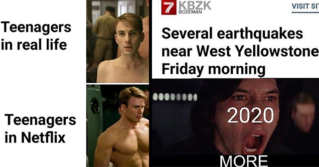 chris evans in captain america 1 - Teenagers in real life Teenagers in Netflix | photo caption - Visit Site Bozeman 7 Kbzk Several earthquakes near West Yellowstone Friday morning 2020 More