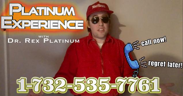 dr. rex platinum platinum experience | episode 1 video platinum experience