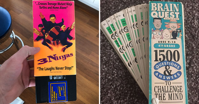 3 ninjas blockbuster video vhs - brain quest 1500 questions and answers