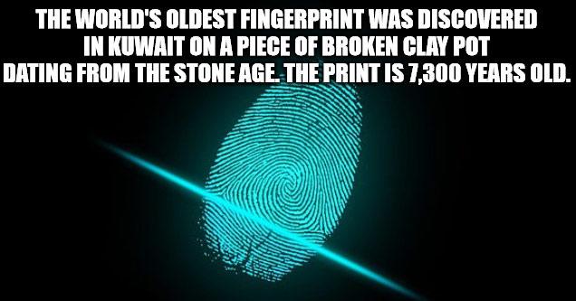 a thumb print glowing in the dark
