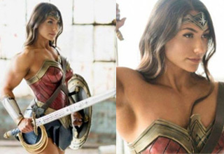 funny pictures and cool memes | brigitte goudz wonder woman - Brigitte Goudz cosplaying as Wonder Woman Eje gup > 213