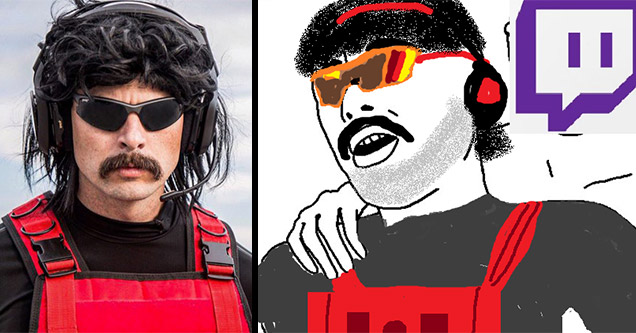 dr disrespect banned from twitch