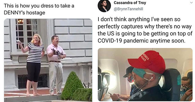 great tweets collected from twitter to make your day | window - bridezillaofeldorado This is how you dress to take a Denny's hostage | photo caption - Cassandra of Troy I don't think anything I've seen so perfectly captures why there's no way the Us is go
