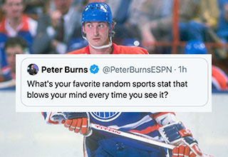 Did you know that Wayne Gretzky was really good at hockey, like really really good.