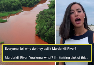 "Two dead bodies were recently discovered in a waterway in Delaware called <strong><a href=""https://www.ebaumsworld.com/videos/two-bodies-found-during-search-in-murderkill-river/86308504/"">Murderkill River</a></strong>, which is the kind of on the nose coincidence that you only find on an ABC teen drama show. </br> </br> If you haven't already seen the video of the local news anchor describing the dreadful discovery, it's worth a watch. </br> </br> On Twitter, people have been reacting to the news with a mixture of confusion, humor, and excitement that hasn't been seen since all those people tried to <strong><a href=""https://www.ebaumsworld.com/videos/creator-of-the-storm-area-51-page-shows-off-his-ninja-run-and-were-definitely-all-doomed/86020222/"">Naruto run on Area 51</a></strong>. </br> </br> Here's the best jokes and reactions people have had to the Murderkill River deaths, and if <strong><a href=""https://www.ebaumsworld.com/videos/raw-video-swimmer-captures-shark-off-delaware-coast/86303174/"">Delaware</a></strong> ever considers renaming the area to something less ominous we need to organize a Naruto run on their Governor to stop it. </br> </br> Find more bemusing amusements by <strong><a href=""https://www.ebaumsworld.com/videos/guy-rages-at-fat-passenger-in-road-rage-incident/85840158/"">clicking right here</a></strong> with your fat little finger."