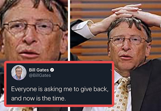 "Earlier today, a group of people hacked into some of the biggest Twitter accounts—<strong><a href=""https://www.ebaumsworld.com/videos/snoop-dogg-is-about-ready-to-shoot-bill-gates-if-he-cant-play-his-video-games/86247001/"">Bill Gates</a></strong>, <strong><a href=""https://www.ebaumsworld.com/articles/elon-musk-lets-his-karen-flag-fly/86257611/"">Elon Musk</a></strong>, <strong><a href=""https://www.ebaumsworld.com/pictures/joe-biden-is-getting-rocked-by-the-right-for-his-pathetic-trump-nickname/86274120/"">Joe Biden</a></strong>, <strong><a href=""https://www.ebaumsworld.com/pictures/jeff-bezos-is-on-track-to-become-worlds-first-trillionaire-and-people-are-losing-it/86270933/"">Jeff Bezos</strong></a>, plus nearly a dozen more—and successfully scammed people out of more than $50,000. </br> </br> The scam told people that if they sent $1,000 in Bitcoin to a wallet they would receive twice the amount back. It's the kind of scam most kids wouldn't fall for on the playground, but sure enough plenty of people did. </br> </br> In addition to seeing the variety of people getting hacked (<strong><a href=""https://i.insider.com/5f0f75e95af6cc6f97796c88?width=750&format=jpeg&auto=webp"" target=""_blank"">Wiz Khalifa?</a></strong> lol), the funniest part about this is that the <strong><a href=""https://www.ebaumsworld.com/articles/cryptocurrency-bots-just-fell-prey-to-mcafees-twitter-being-hacked/85542529/"">hackers</a></strong> actually gave some money back to people, making their scam seem that much more convincing. </br> </br> By the end of the day, a CEO offered $1 million to whoever could bring the hackers to justice. Whether that in itself is just another scam has yet to be seen."