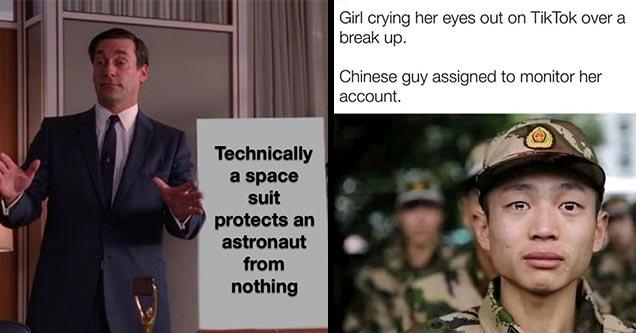 21 забавный промозглый мем, которым можно наслаждаться одновременно