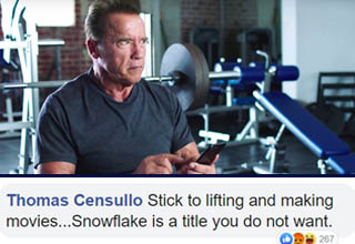 "<a href=""https://www.ebaumsworld.com/videos/arnold-trolls-sly-in-the-best-way-possible/86072480/"" target=""_blank"">Arnold Schwarzenegger</a> has done a LOT in his life. He's a legendary bodybuilding champion, one of the greatest action movie stars of all time, former Governor of California, businessman, and more.  <br></br>He's also quite active on various social media platforms (he's one of the most beloved and active celebrities on Reddit). As such, he's definitely dealt with his fair share of online keyboard warriors trying to sound cool by sniping at him, and just like the <a href=""https://www.ebaumsworld.com/pictures/22-facts-about-the-terminator-movies/84649609/"" target=""_blank"">Terminator</a>, he's able to destroy them with surgical precision."