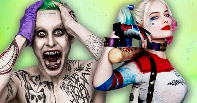 Why the suicide squad makes no sense | Jared Leto and Margo Robbie as the Joker and Harley Quinn in Suicide Squad