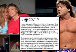 "Former professional wrestler Marty Jannetty has gone viral for his bizarre <a href=""https://www.ebaumsworld.com/articles/8-things-facebook-wont-let-you-do/85638640/""><strong>Facebook</strong></a> post, where he seems to admit to killing a man when he was 13-years-old. The former WWE wrestler has come out and made a statment on his comments, but that was after the Columbus Police Department said they were opening an investigation into his post. <br><br> Of all the <a href=""https://www.ebaumsworld.com/pictures/28-crazy-facebook-posts-that-are-out-of-this-world-insane/85524251/""><strong>crazy things posted to Facebook</strong></a> over the years, this might tae the cake for the craziest."