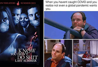 funny memes and pics - I know you didn't do shit last summer - when you haven't caught covid and realize not even a global pandemic wants you