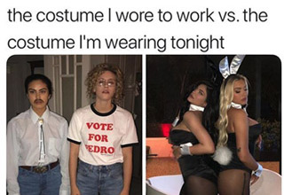 "<a href=""https://www.ebaumsworld.com/pictures/the-funniest-halloween-memes-of-all-time/84794205/""><strong><u>Halloween Memes </strong></u></a>are the perfect way to get yourself pumped up over the <a href=""https://www.ebaumsworld.com/pictures/spooktober-memes-to-celebrate-the-best-month-of-the-year/86082545/""><strong><u>upcoming holiday</strong></u></a>.  Although Halloween is going to be interesting and quite different this year, there's no doubt that people will still decorate their houses, yards, and themselves.  Check out these other <a href=""https://knowyourmeme.com/memes/events/halloween/photos""><strong><u>Halloween Memes and Pics</strong></u></a>."