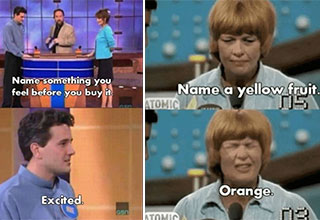 "Family Feud has been serving up the laughs for decades, and though you surely thought to yourself, ""how could these people be so braindead"", but in the heat of the moment people are prone to making silly mistakes. So here are some <a href=""https://www.ebaumsworld.com/pictures/28-dumbest-game-show-answers-ever/86060578/""><strong>Family Feud</strong></a> answers so dumb, they're great."