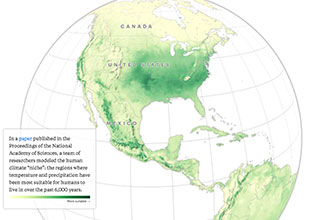 "<a href=""https://www.propublica.org/""><strong>Pro Publica,</strong></a>  a non-profit news organization compiled and analyzed a new climate study that seeks to predict what North American will look like by midcentury."