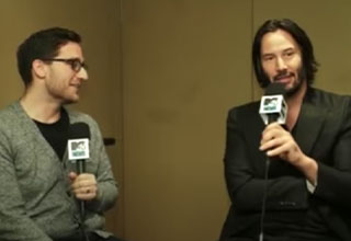 keanu reeves loses all respect for interviewer
