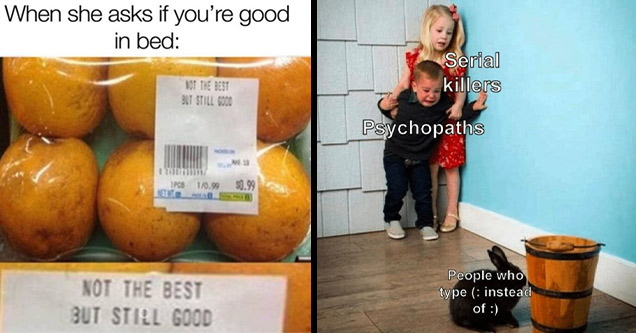 funny memes   not the best but still good kids scared